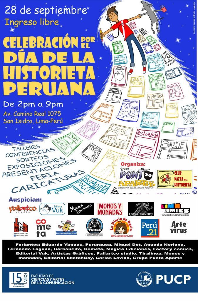 Celebración por el Día de la Historieta Peruana 2013
