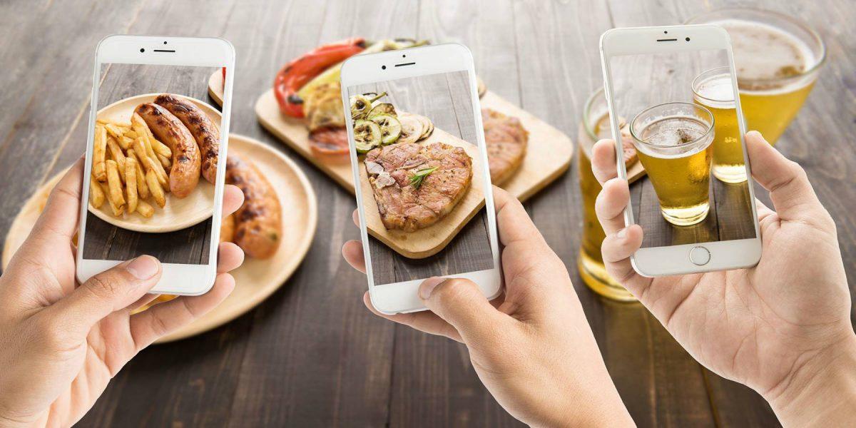 Ver fotos de comida en redes sociales causa rechazo