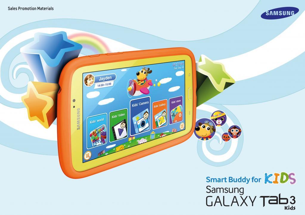 Samsung presenta la nueva GALAXY Tab 3 Kids, una divertida herramienta de aprendizaje y diversión para los niños