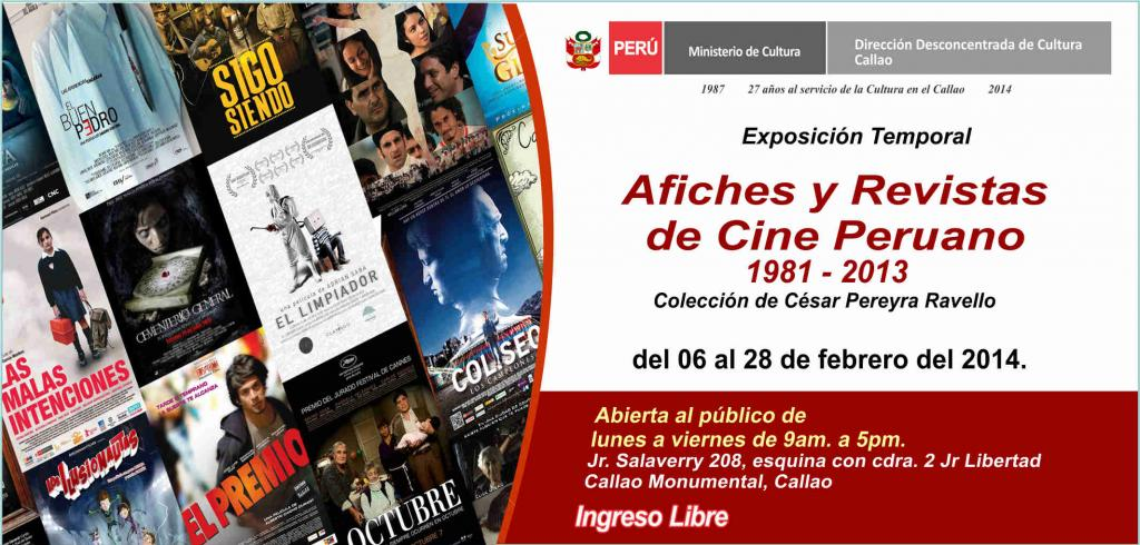 Exhibición sobre la historia del cine peruano en el Callao