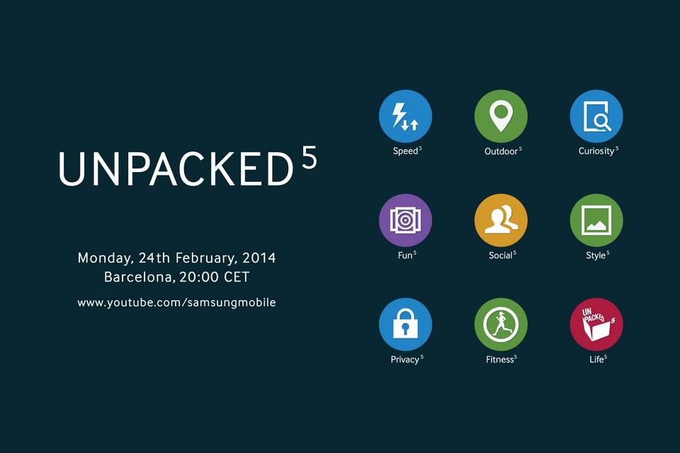 """Samsung presenta """"UNPACKED 5"""", este 24 de Febrero en Barcelona"""