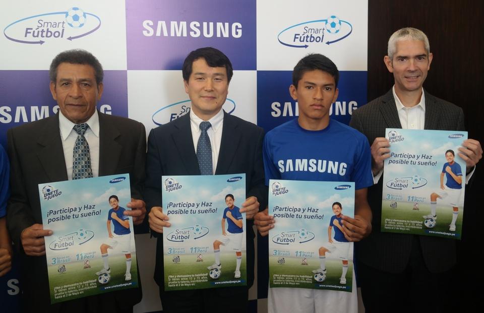 Samsung presenta Smart Fútbol: Una iniciativa que busca contribuir con el futuro del Fútbol Nacional
