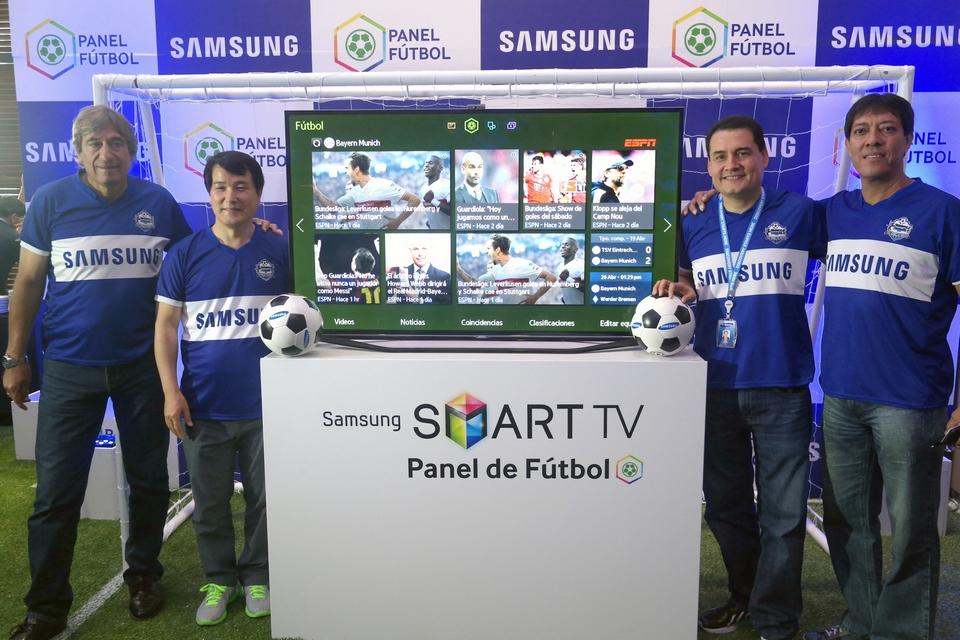 Samsung Smart TV revoluciona la forma de disfrutar del Fútbol con el nuevo Panel Fútbol