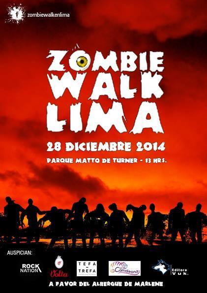Zombiewalk 2014: Domingo 28 de Diciembre