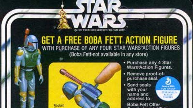 Fanático de Star Wars paga US$27,200 por juguete raro de Boba Fett