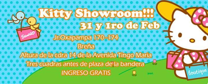 Kitty Showroom: Bingo, Sorteos, Tatuajes y más !