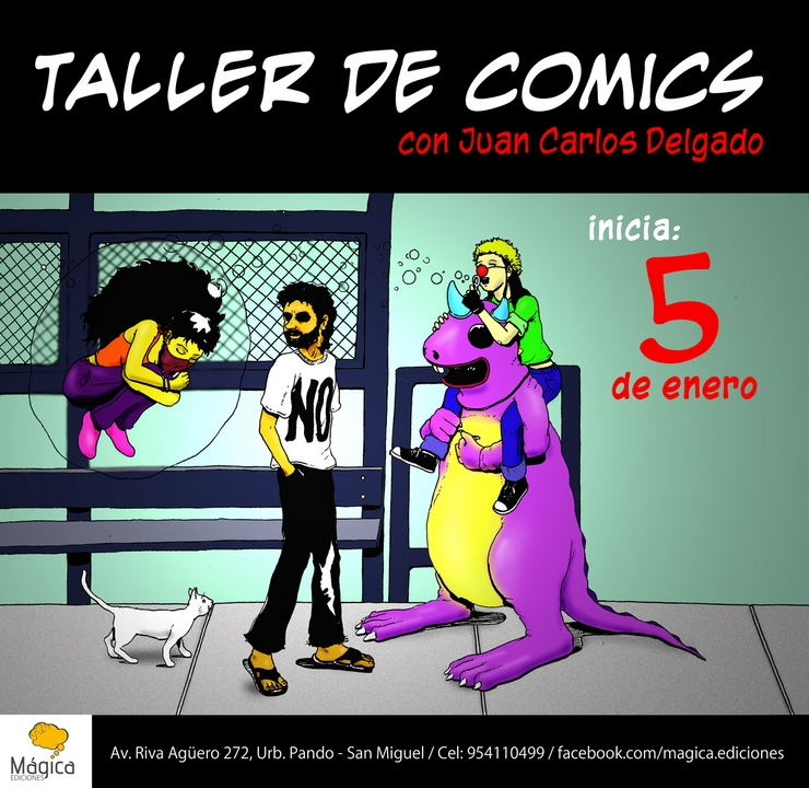 Taller de Comics con Juan Carlos Delgado