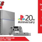 MasGamers Store presenta la PlayStation 4 Edición de Colección por sus 20 años.