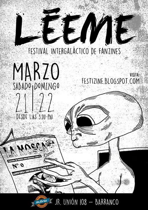 ¡Léeme! en La Feria de Barranco  | 21 y 22 de Marzo