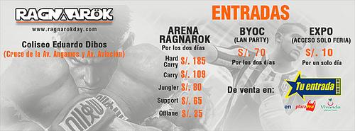 Ragnarok 2015: Estrellas de VideoJuegos de 'Primer Nivel' este 25 y 26 de abril
