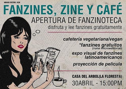 Fanzines Zine y Café | La cita es este 30 de abril