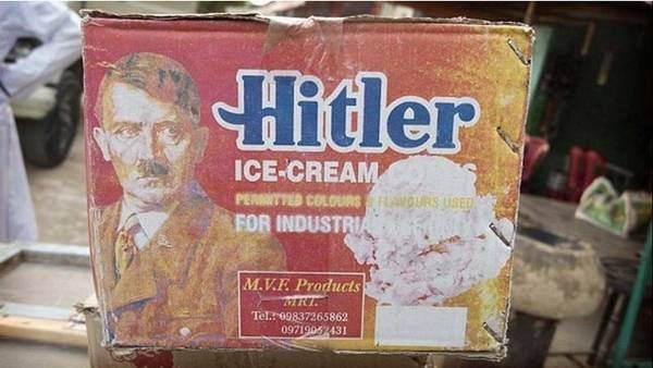 Los helados 'Adolf Hitler' causan furor en la India e irritan en Alemania