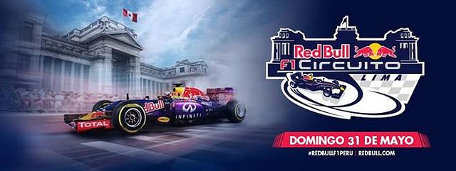 Red Bull F1 Circuito Lima | 31 de mayo