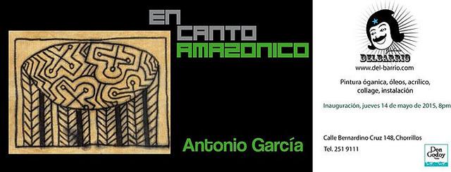 Exposición individual de Antonio García 'En Canto Amazónico'