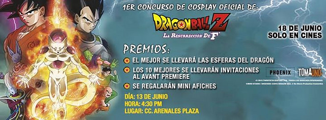 1er Concurso Cosplay 'DRAGON BALL'