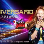 Aniversario 3,2,1 Asia – 'UN TOUR POR ASIA'
