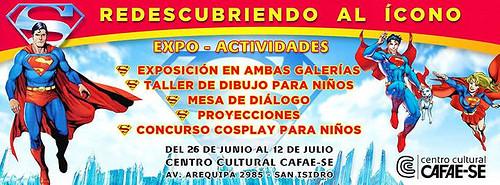 Expo-Actividades: SUPERMAN , Redescubriendo al Icono!