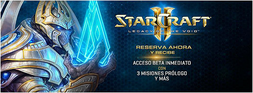 Pre-compra 'StarCraft 2 Legacy of the Void'