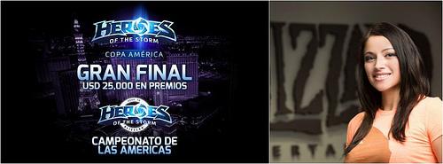 Copa America de Heroes of the Storm distribuirá $25,000 en la Gran Final
