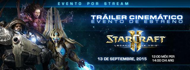 Starcraft 2 Legacy of the Void a la venta desde el 10 de Noviembre