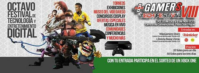 MASGAMERS TECH FESTIVAL VIII : El evento gamer más importante del Perú