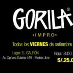 La Mancha Impro presenta GORILA™