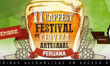 CAPFEST 2 – Festival de cerveza artesanal Peruana