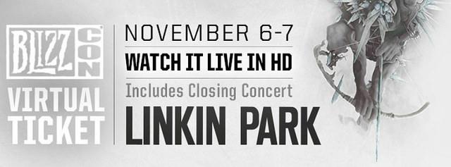Linkin Park en la BLIZZCON 2015