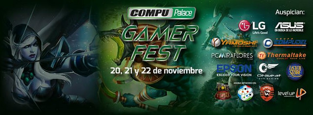 COMPUPALACE GAMER FEST 2015