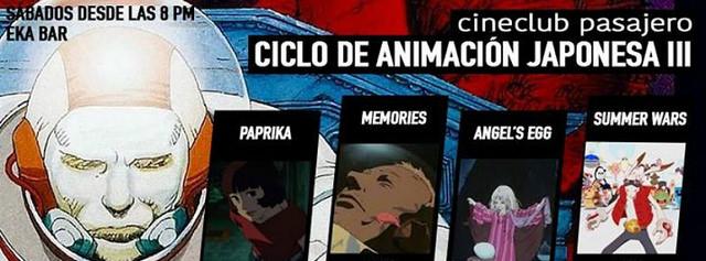 Ciclo de Animacion Japonesa III