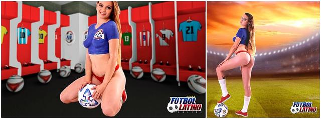 Futbol Latino Online : Garota te invita a jugar Online