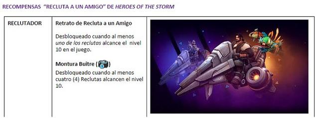 Recluta a Un Amigo: Conoce El Nuevo Programa De Heroes Of The Storm