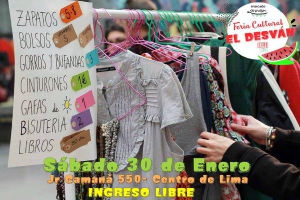 Feria Cultural El Desván Enero Verano 2016