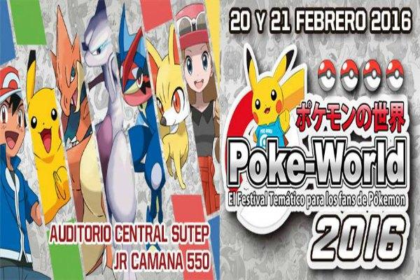 Poke World 2016: Evento Pokemon en Peru