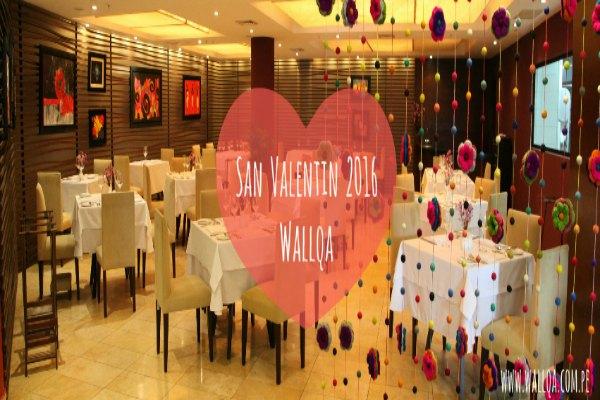 #SanValentín: Exquisita y romántica cena en Wallqa con Bossa Nova en vivo