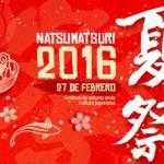Natsumatsuri 2016: Festival de verano de la cultura japonesa