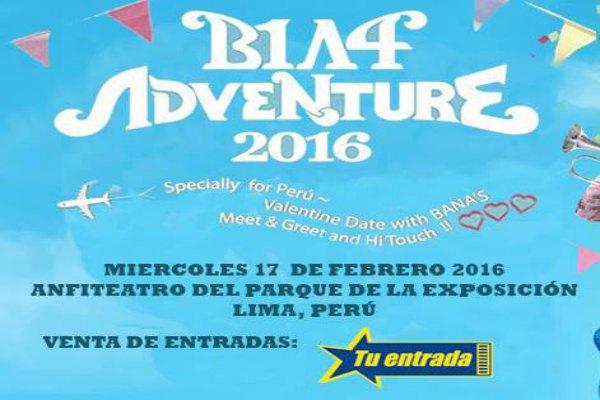 B1A4 Adventure 2016 In Peru