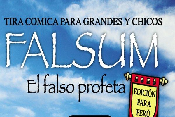 Mágica Ediciones presenta Falsum: El Falso Profeta