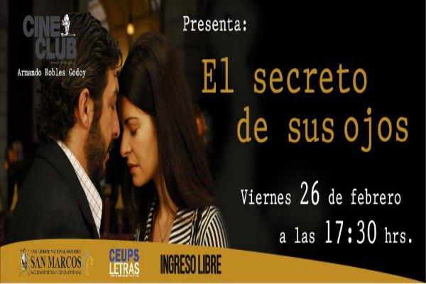 Cine En La Terraza: El Secreto De Sus Ojos