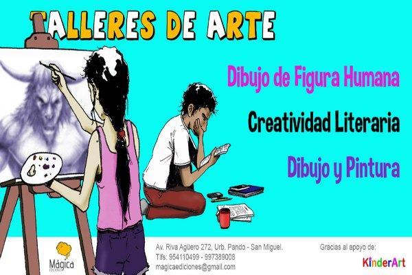 Mágica Ediciones presenta sus Talleres de Arte: Marzo – Abril