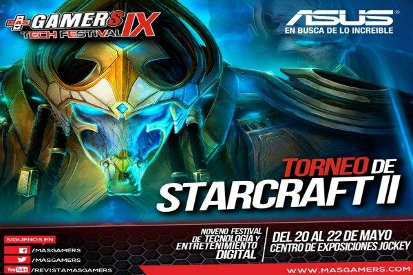 Torneo de StarCraft 2 en el MasGamers Tech Festival IX