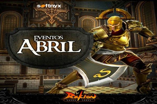 Rakion presenta novedades para el mes de Abril