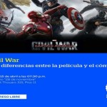 Conversatorio Civil War: Diferencias entre el Cómic y la Película