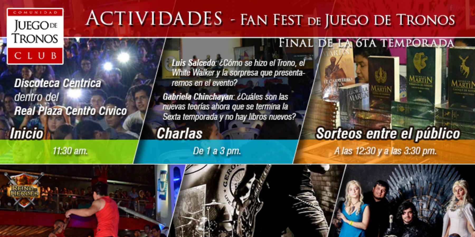 Fan Fest Juego de Tronos | Final de temporada