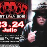 Horror Fest Lima 2016   Dross en Perú