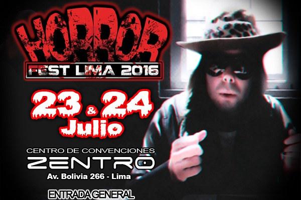 Horror Fest Lima 2016 | Dross en Perú