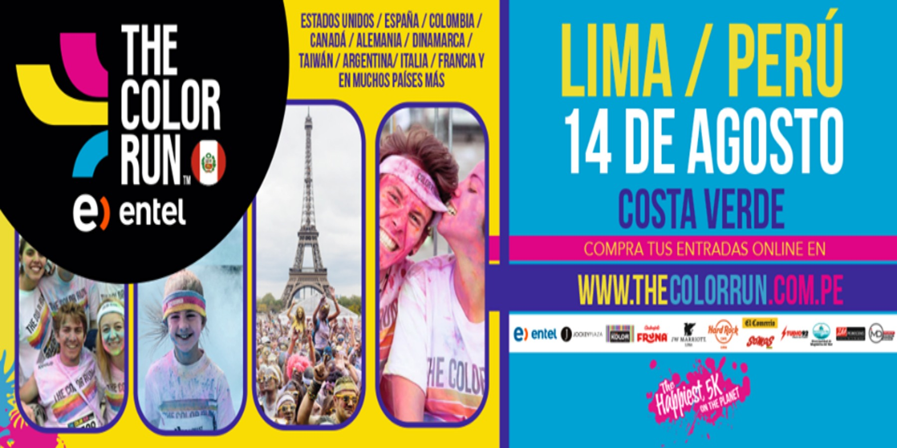 The Color Run llega por primera vez a Lima