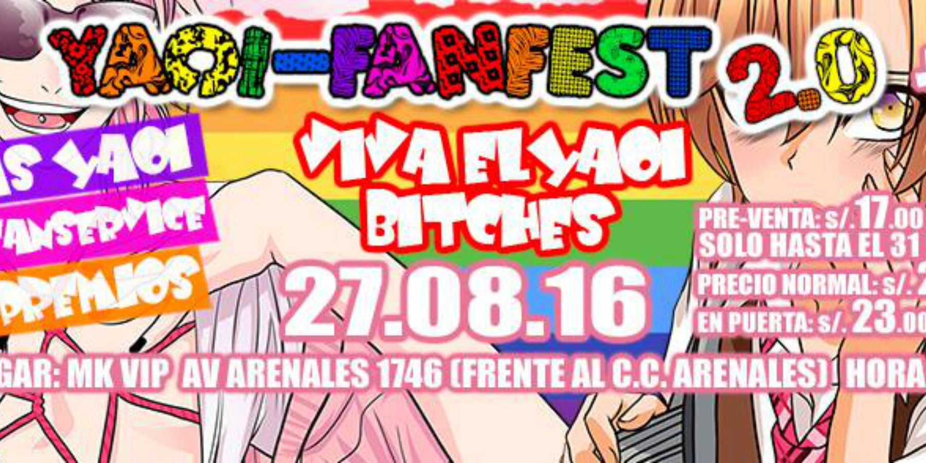 Yaoi Fanfest 2 | MK Break Club