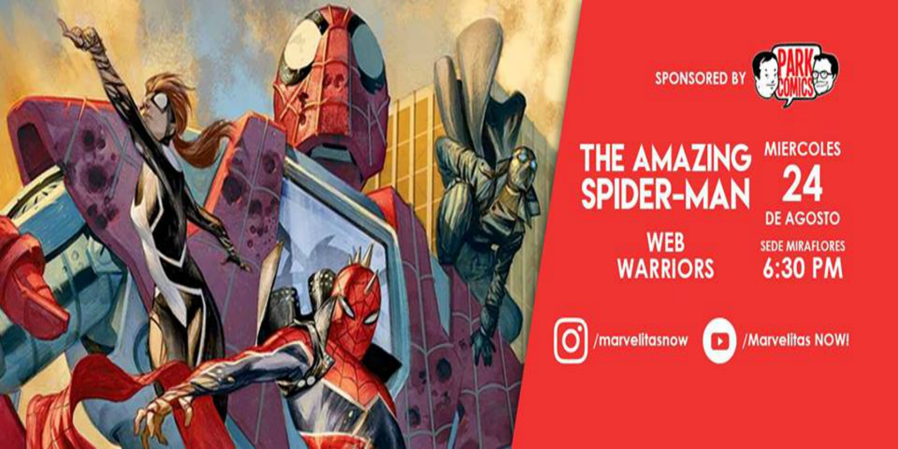 Spider Man: Web Warriors | ICPNA de Miraflores