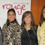 Air Canada Rouge en evento 7 Reinas